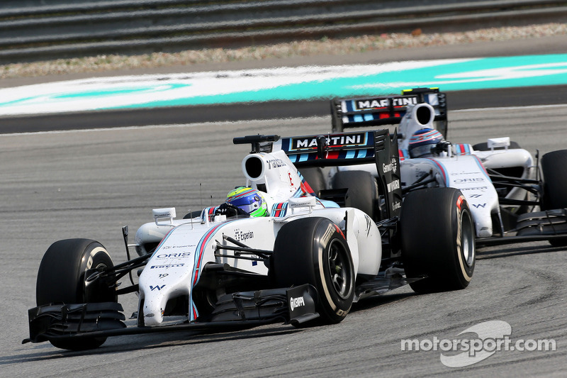 Felipe Massa (BRA), Williams F1 Team; Valtteri Bottas (FIN), Williams F1 Team