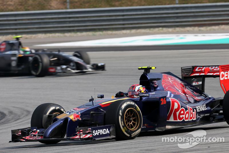 Daniil Kvyat , Scuderia Toro Rosso 30