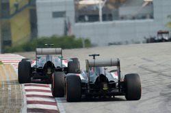 Esteban Gutiérrez, Sauber C33 y Adrian Sutil, Sauber C33