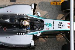 Boxenstopp: Lewis Hamilton, Mercedes AMG F1 W05