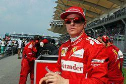 Startaufstellung: Kimi Räikkönen, Ferrari