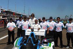 Mario Andretti y el IndyCar biplaza