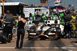 L'auto di Josef Newgarden, Sarah Fisher Hartman Racing Honda