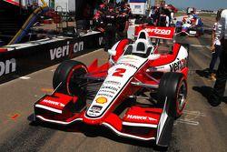 L'auto di Juan Pablo Montoya, Team Penske Chevrolet