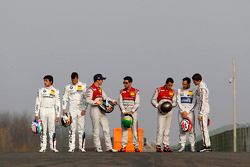 Alle DTM Meister, Bruno Spengler, BMW Team Schnizter; Mattias Ekström, Audi Sport Team Abt Sportslin