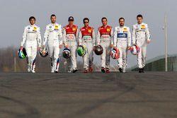Tutti i Campioni DTM, Bruno Spengler, Mattias Ekström, Audi Sport Team Abt Sportsline, Audi A5 DTM, Mike Rockenfeller, Audi Sport Team Phoenix Audi RS 5 DTM, Timo Scheider, Audi Sport Team Phoenix Audi RS 5 DTM, Gary Paffett, Mercedes AMG DTM-Team HWA DTM