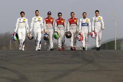 Champions DTM : Bruno Spengler, Mattias Ekström, Audi Sport Team Abt Sportsline, Audi A5 DTM, Mike R