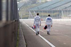 Paul Di Resta, Mercedes AMG DTM-Takımı HWA DTM Mercedes AMG C-Coupe ve Gary Paffett, Mercedes AMG DT