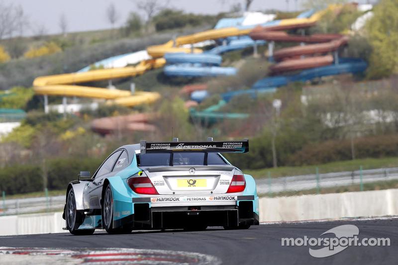 Vitaly Petrov, Mercedes AMG DTM-Team Mücke DTM Mercedes AMG C-Coupe