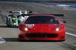 #63 AF Corse Ferrari F458 Italia GT3: Mads Rasmussen, Dennis Lind