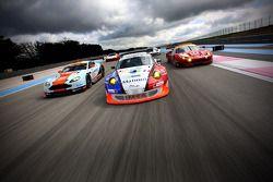 #76 IMSA Performance Matmut Porsche 911 GT3 RSR: Raymond Narac, Nicolas Armindo, Laurent Pasquali