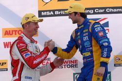 Andrew Jordan, Pirtek Racing and Matt Neal, Honda Yuasa Racing