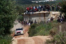 Khalid Al-Qassimi y Chris Patterson, Citroën DS3 WRC, Citroën Total Abu Dhabi World Rally Team