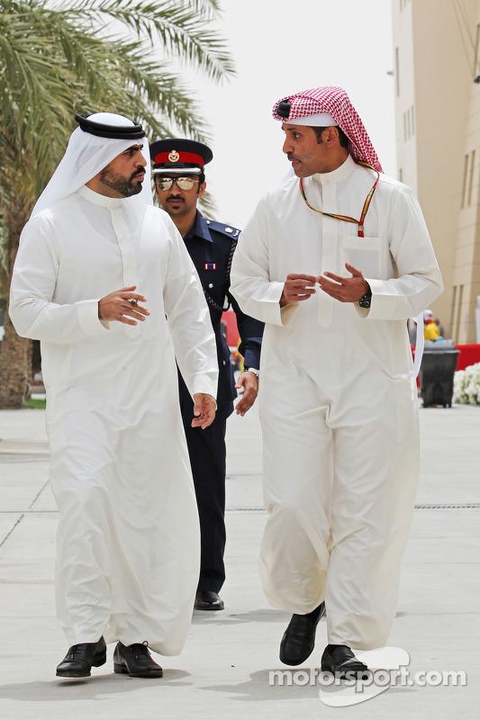 Sheikh Salman bin Isa Al-Khalifa, Bahrain International Circuit, Geschäftsführer