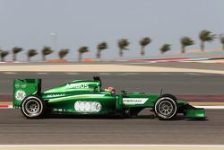 Robin Frijns, Caterham CT05 Test- en reservecoureur