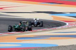 Robin Frijns, tester e pilota di riserva del Caterham F1 Team e Giedo van der Garde, terzo pilota del team Sauber F1