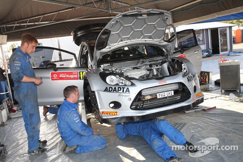 Henning Solberg e Ilka Minor, Ford Fiesta WRC