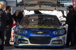 Voiture d'A.J. Allmendinger, JTG Daugherty Racing Chevrolet