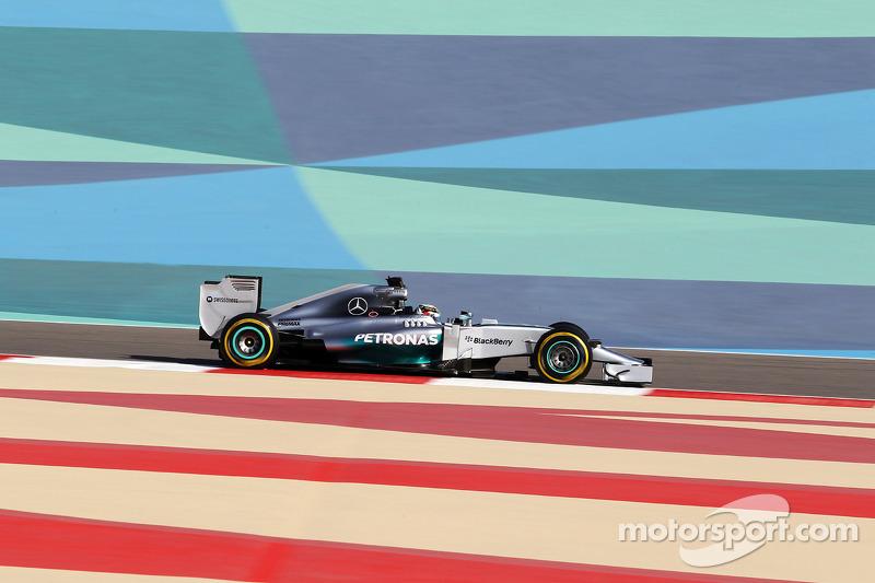 Льюис Хэмилтон, Гран При Бахрейна-2014