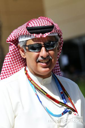 Zayed Rashed Al Zayani,巴林国际赛车场主席