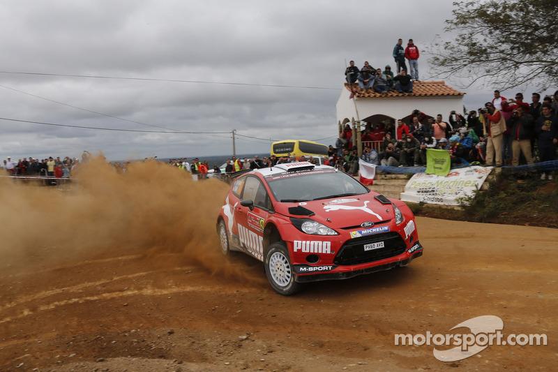 Abdulaziz Al-Kuwari y Killian Duffy, Ford Fiesta RRC