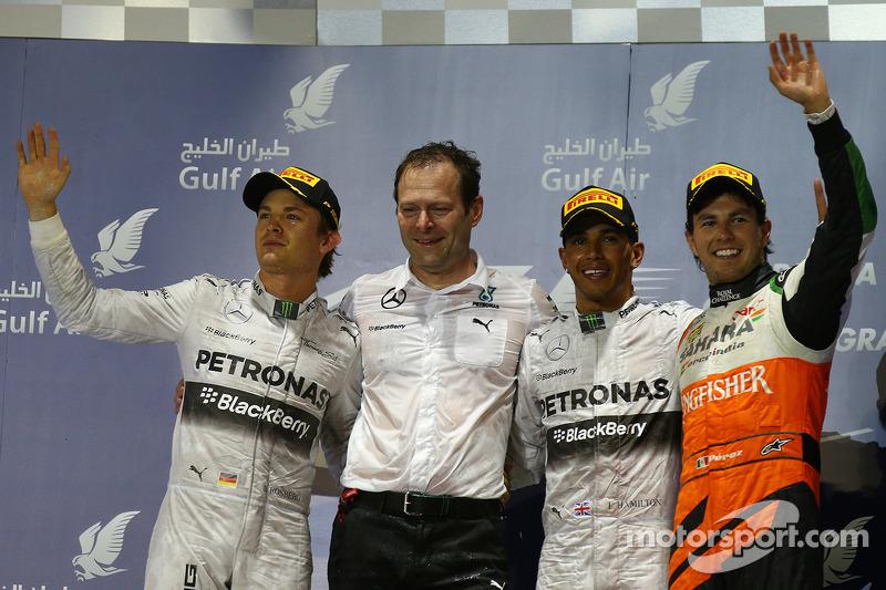 14 (2014) GP de Bahrein Segundo lugar