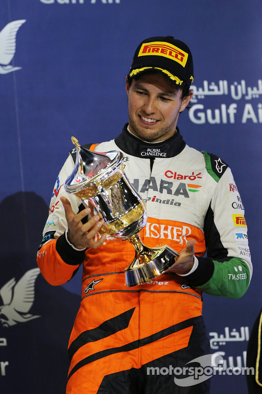 3. Sergio Perez, Sahara Force India F1