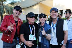La banda de rock AC/DC