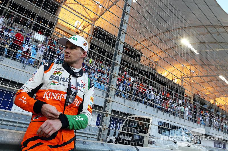 Сам немец из Force India финишировал в Бахрейне пятым, но именно он по итогам трех первых гонок поднялся на третью строчку в общем зачете чемпионата.