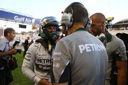 Nico Rosberg, Mercedes AMG F1 en la parrilla