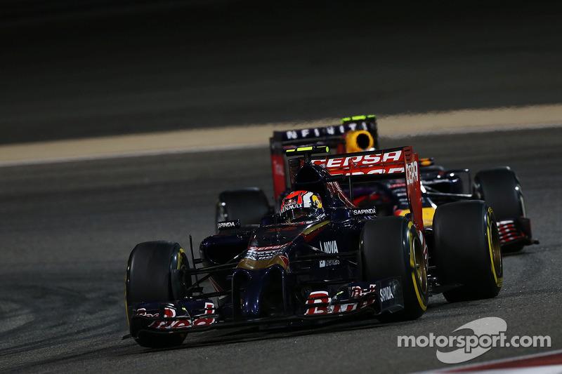 2014 год: борьба с Даниэлем Риккардо в гонке