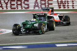 Marcus Ericsson, Caterham F1 Team e Max Chilton, Marussia F1 Team 06
