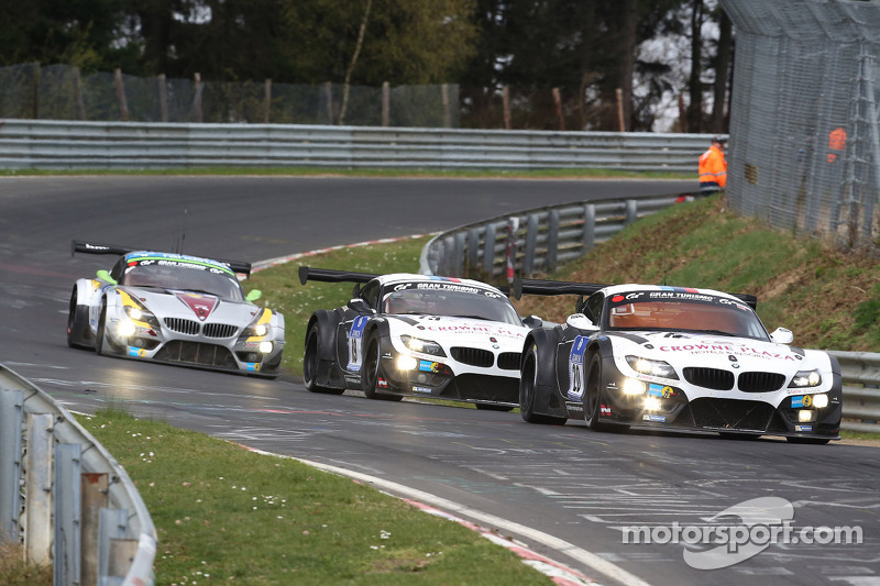 Jens Klingmann, Dominik Baumann, Claudia Hurtgen, BMW Sports Trophy Team Schubert, BMW Z4 GT3
