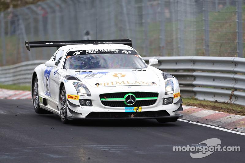 哈罗德·普利马和马克西米连·居茨,梅赛德斯-奔驰SLS AMG GT3