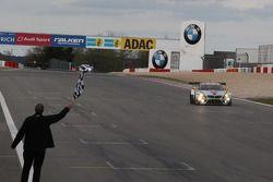 Maxime Martin, Uwe Alzen, Marco Wittmann, BMW Sports Trophy Team Marc VDS, BMW Z4 GT3 takes the win