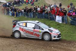 翰宁·索伯格和伊卡·米诺,福特嘉年华WRC