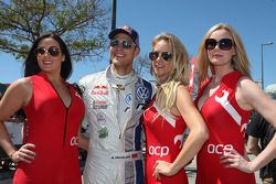 Lovely ladies with Andreas Mikkelsen