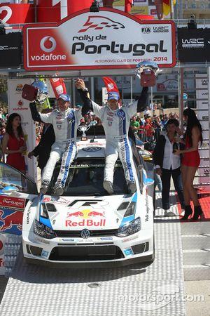 Second place Mikko Hirvonen and Jarmo Lehtinen, M-Sport Ford Fiesta WRC