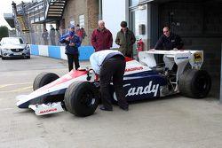 Toleman TG184 di Ayrton Senna