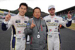 GT500 winnaars Daizuke Ito en Andrea Caldarelli