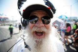 Uomo della sicurezza barbuto
