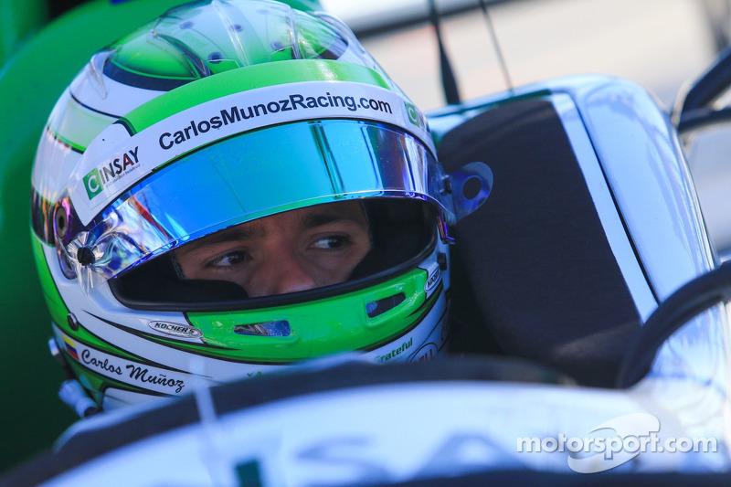 安德雷蒂本田车队的卡洛斯·穆尼奥斯