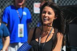 Kristen Dee, petite amie de James Hinchcliffe, Andretti Autosport Honda
