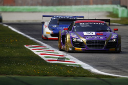 #55 Brother Racing Team Audi R8 LMS Ultra: Congfu Cheng, Sun Zheng, Andre Couto