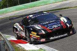 #90 Scuderia Villorba Corse 法拉利 458 Italia: 弗朗西斯科·卡斯泰拉奇, 斯蒂法诺·加伊, 安德里亚·里佐利