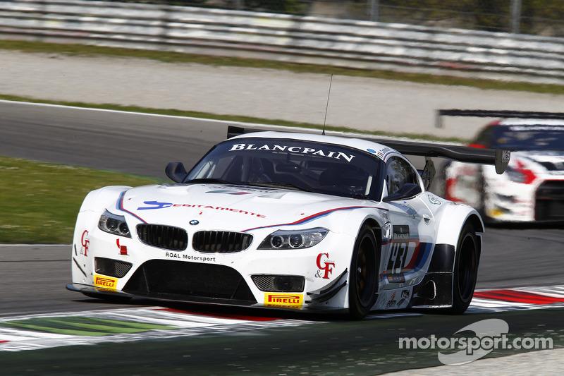 #43 ROAL Motorsport 宝马 Z4: 斯蒂法诺·科曼迪尼, 欧亨尼奥·阿莫斯, 斯蒂法诺·科伦布