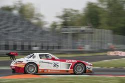 #85 HTP Motorsport Mercedes SLS AMG GT3: Stef Dusseldorp, Sergei Afanasiev, Luca Wolf