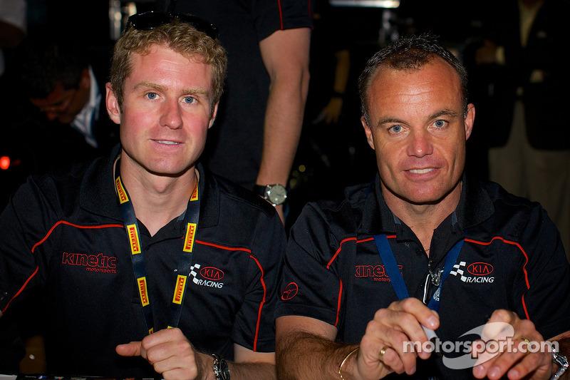 Kia Racing: Mark Wilkins ve Nic Jonsson