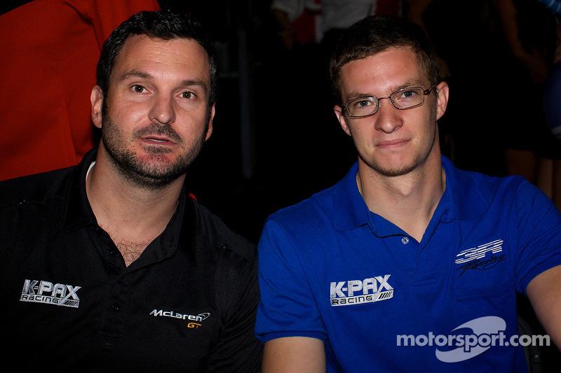 K-PAX车队:阿莱克斯·费格和罗伯特·索恩
