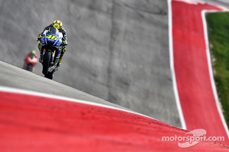 Valentino Rossi, Yamaha Factory Racing at GP of the Americas